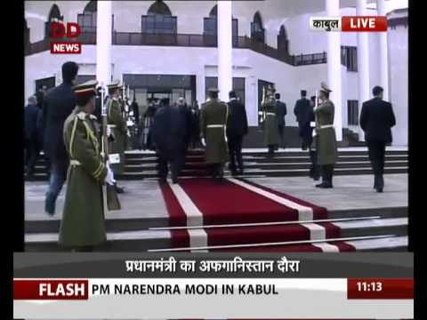 PM in Afghanistan: Inaugurates new Parl building