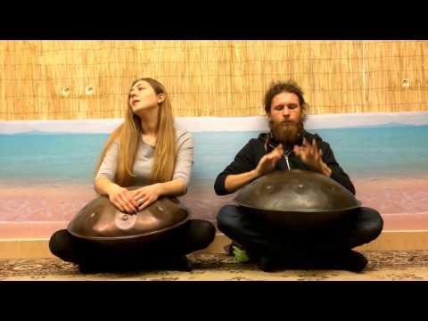 Pasha Aeon & Yasya Krutova - Dolinushka, Handpan & Voice, HD 2017
