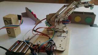 Botdemy - MeArm Color Chip Sorter