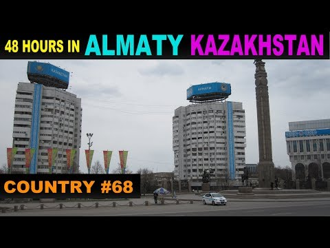 A Tourist's Guide to Almaty, Kazakhstan