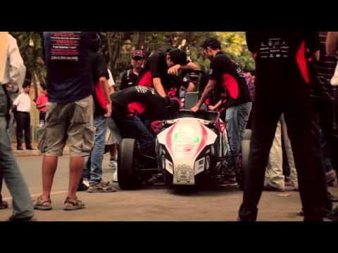 EVo2, The Electric Car by IIT Bombay Racing