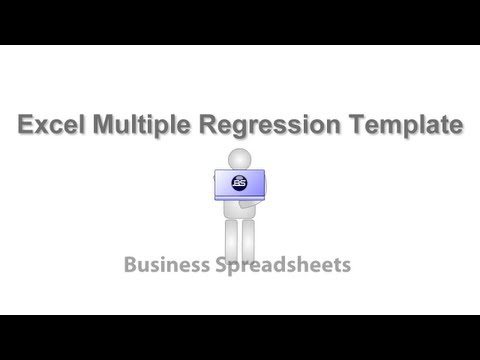 Excel Multiple Regression Template