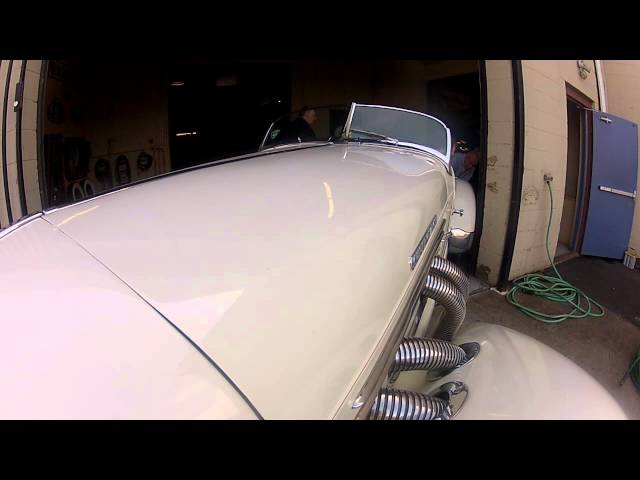 Auburn,1935 model 831 speedster behind the scenes. Official Simeone Automotive Museum Video