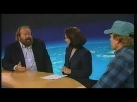 Bud Spencer and Terence Hill on austrian TV newscast ZIB 2