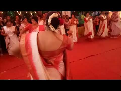 Dunuchi dance conducted by my Daughter in law Anagha at Bangalore (PURVA FOUNTAIN SQUARE)