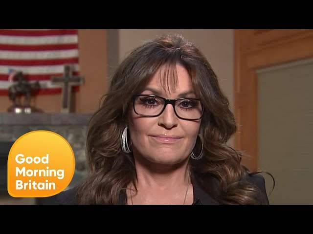 Sarah Palin Speaks About Not Being Invited to John McCain\'s Funeral | Good Morning Britain