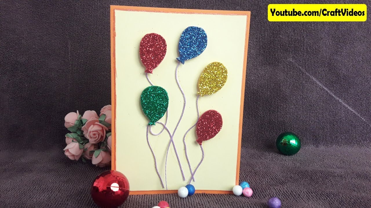 Easy Handmade Greeting Card Ideas Path Decorations Pictures Full