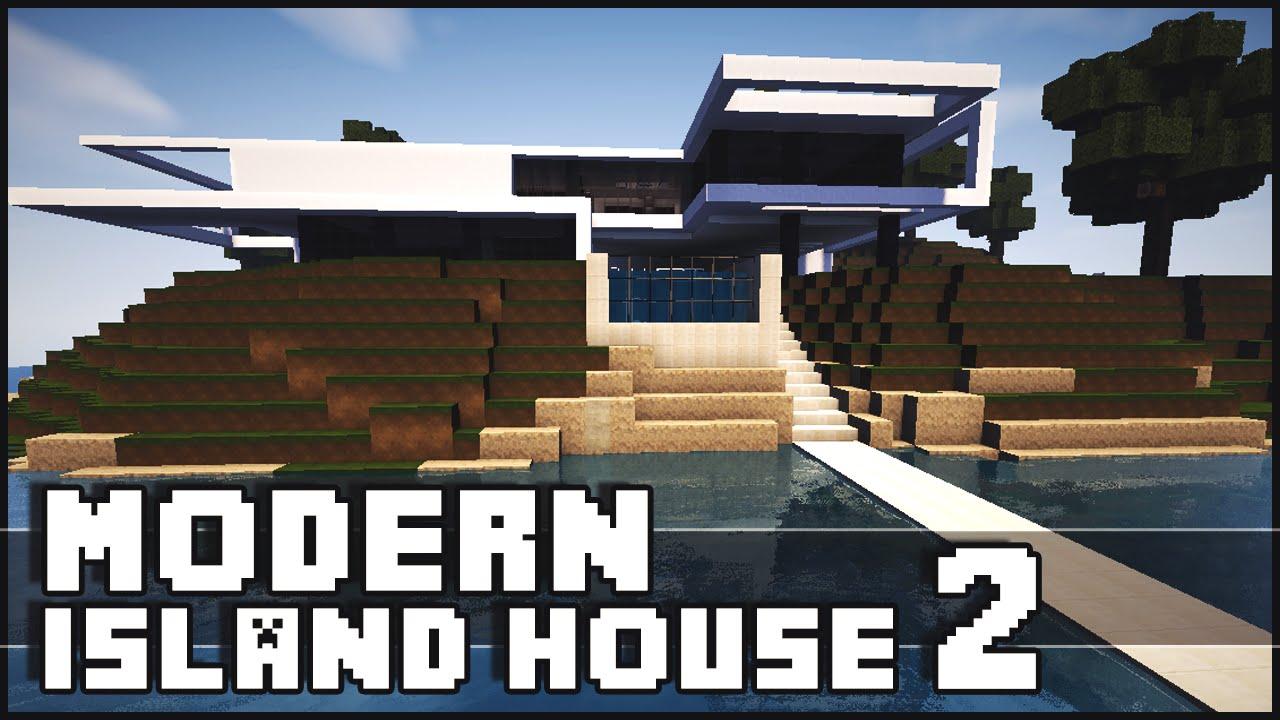 Minecraft Modern Island House 2 YouTube