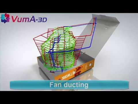 VUMA3D-network 2018 fan ducting 3D mine ventilation simulation software www.vuma3d.com