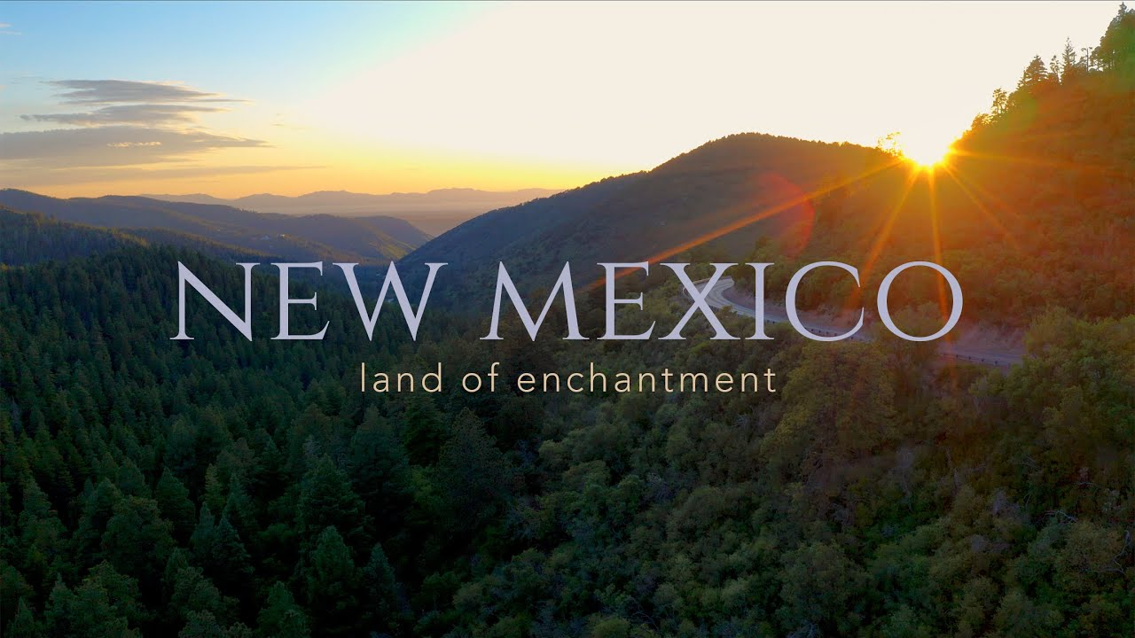 Southern New Mexico Landscape (Drone)