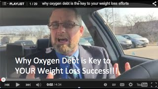 why oxygen debt is the key to your weight loss efforts
