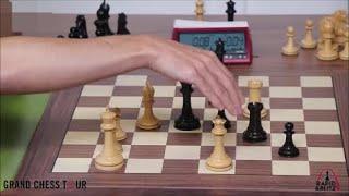 GM Caruana (USA) - GM Carlsen (Norway) 5m + PGN