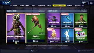 "FORTNITE Shop of February 22 Skins ""ABYSSAL RAVAGEUR"" - ""ABYSSAL DOMINATRICE""!"