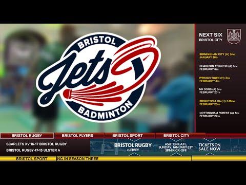 Bristol Sport TV - Introducing Bristol Jets Badminton