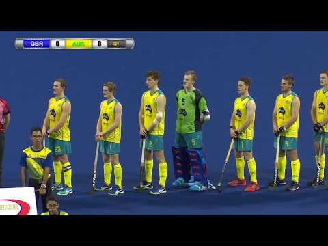 Great Britain v Australia Gold medal match Sultan of Johor Cup Hockey 2017