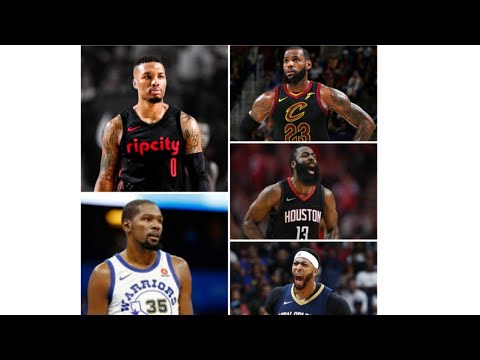 NBA 2018 •1st All Star Team |Mix HD|