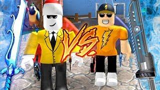 BETTING MY BEST GODLY!! *1V1* (Roblox MM2)