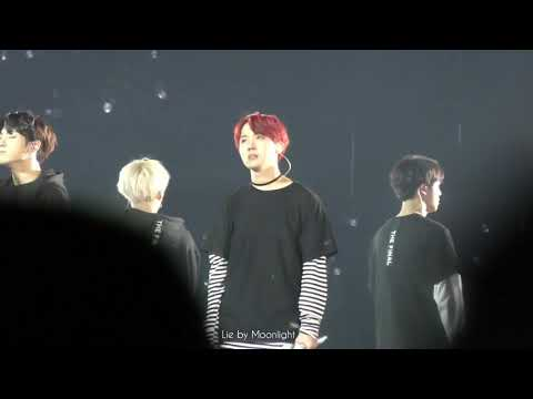 171209 THE WINGS TOUR THE FINAL Day2 - Born Singer BTS Focus