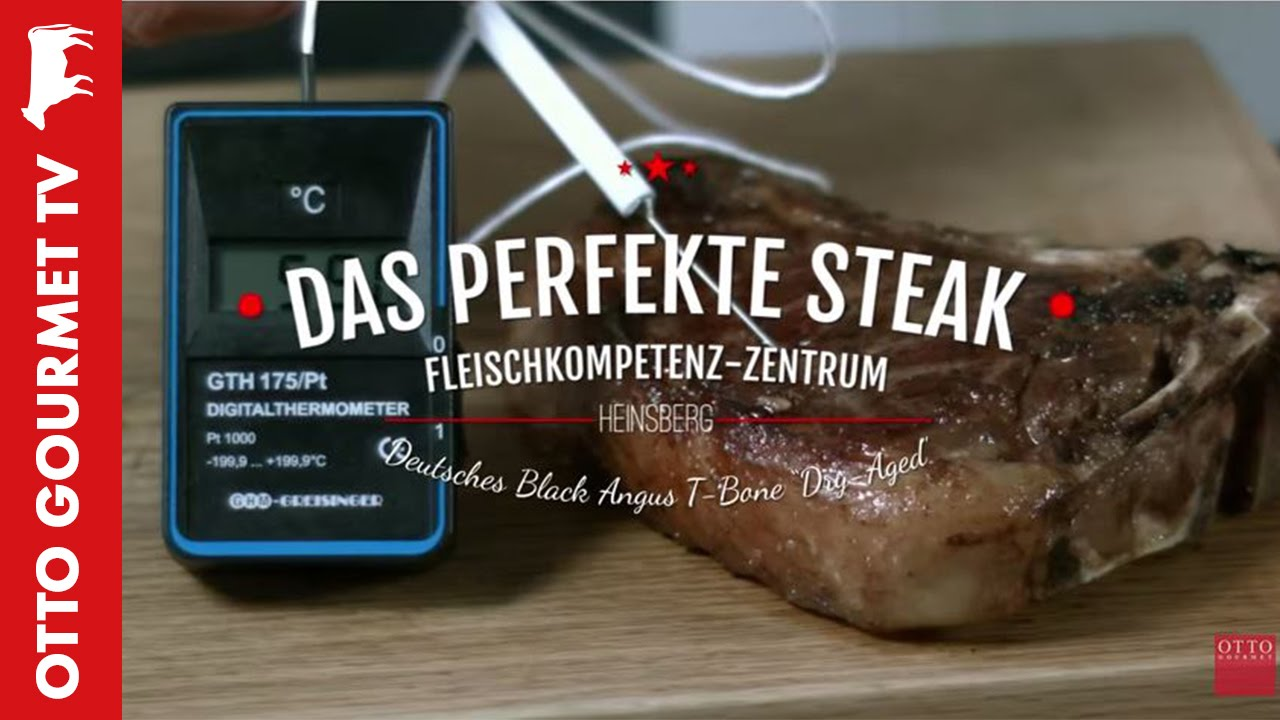 Angus T Bone Dry Aged Steak Perfekt Braten Youtube