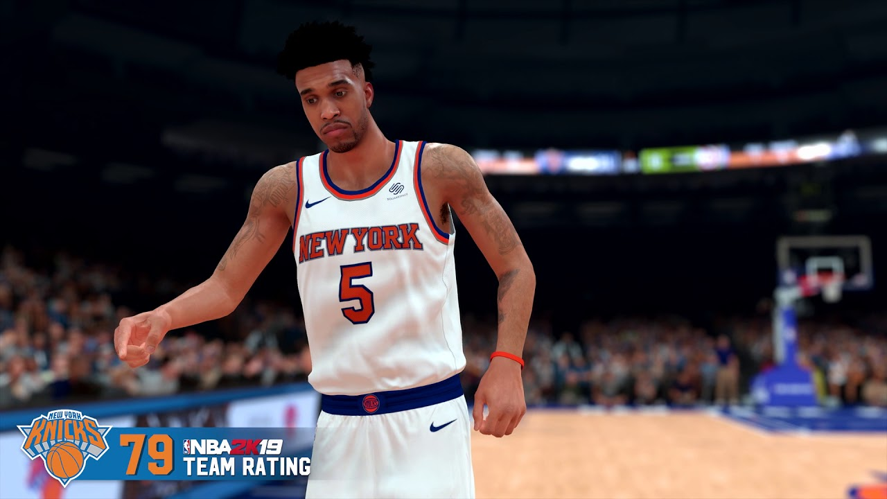 NBA 2K19 - Knicks Team Rating
