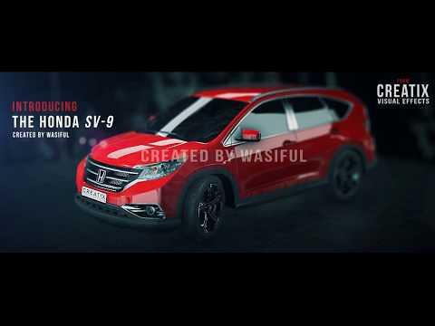 AFTER EFFECTS car advertisement | element 3d car