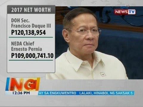 SALN ng 22 sa 37 regular cabinet members, inilabas ng Office of the President