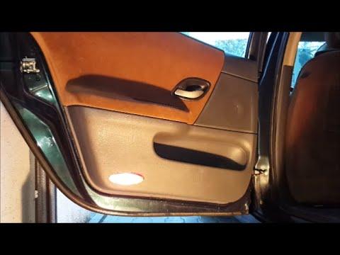 Renault Laguna 2 Uszczelnianie Drzwi