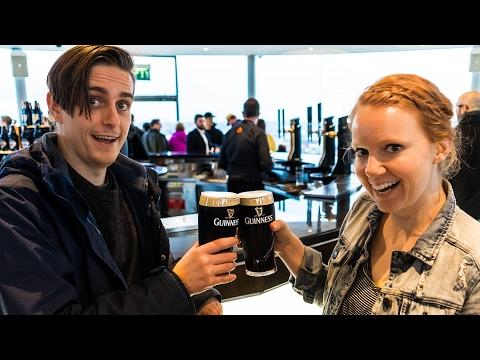Drinking A Guinness AT GUINNESS! (Dublin, Ireland)