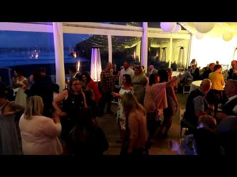 Lusty Glaze Beach Wedding, With Cornwall Wedding DJ