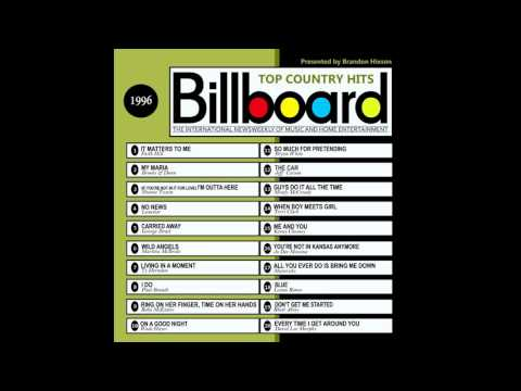 Billboard Top Country Hits  1996
