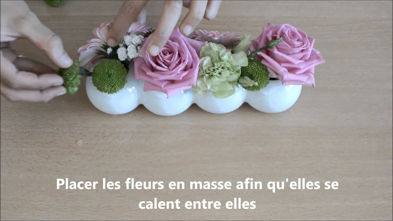 composition vase boule chenille youtube. Black Bedroom Furniture Sets. Home Design Ideas