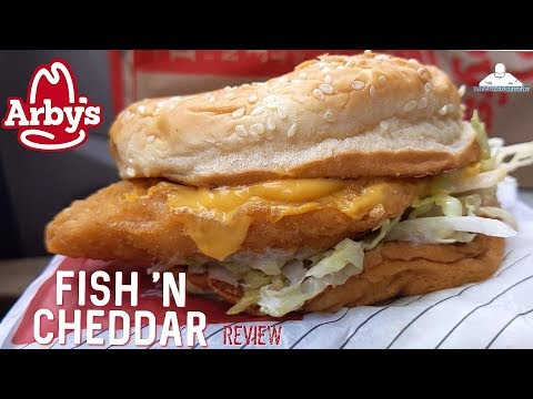 Arby's® Fish 'N Cheddar Sandwich Review! 🎩🐟🧀