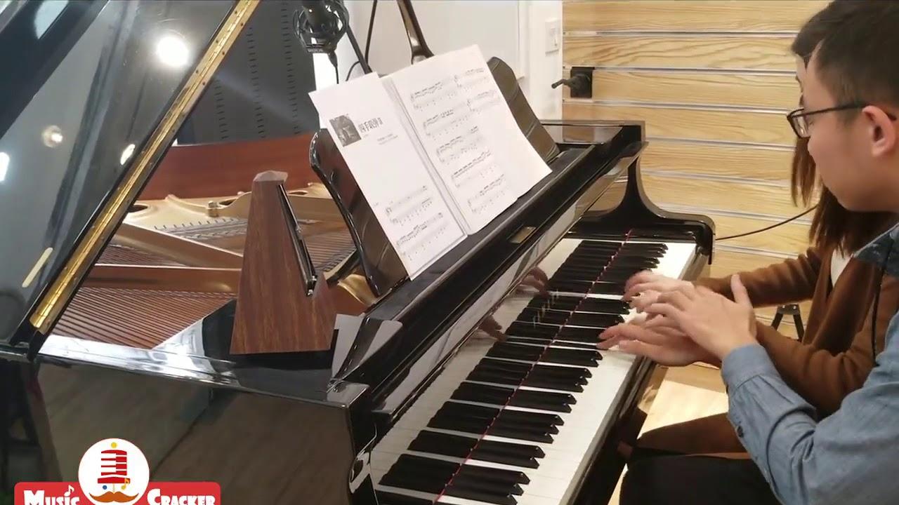 不能說的秘密四手聯彈 cover by夾子音樂 - YouTube