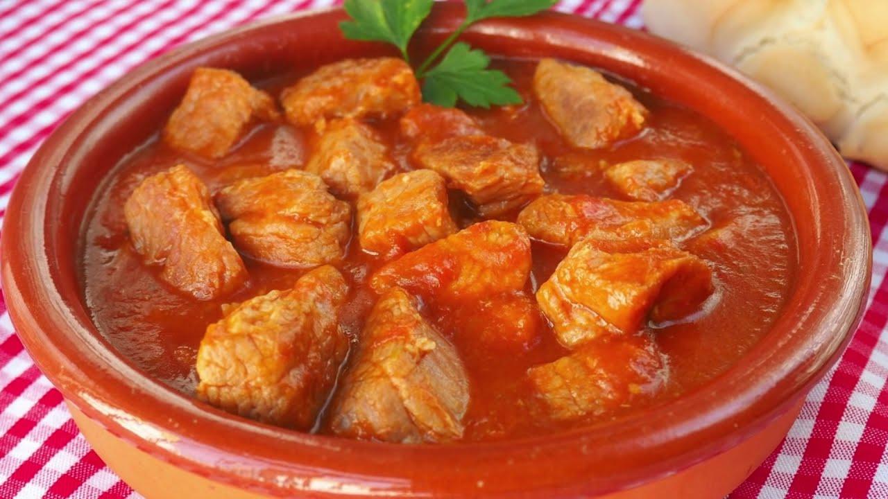 Carne Con Tomate Olla Rápida Y Normal Y Hoy Que Comemos