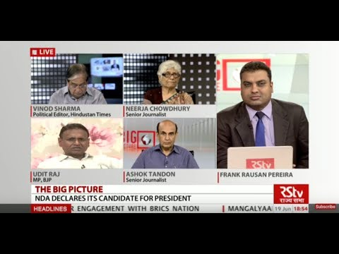 The Big Picture - NDA declares its candidate for President: Message and road ahead