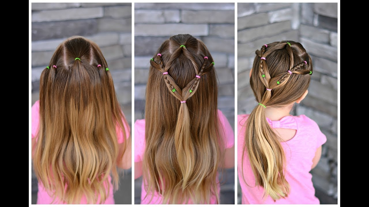 Adaptable Toddler Hairstyle For Short To Long Hair