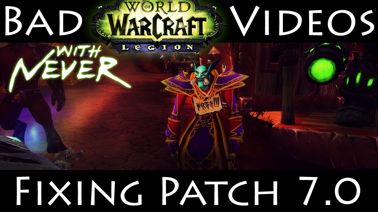 How to fix Patch 7 0 - Camera - Macros - Addons - Missing Glyphs - Stats by  Never