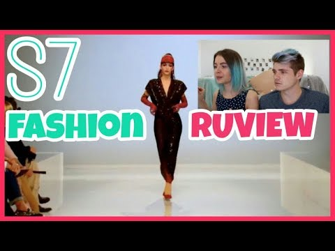 Born Naked FASHION RUVIEW | RuPaul's Drag Race Season 7 Episode 1