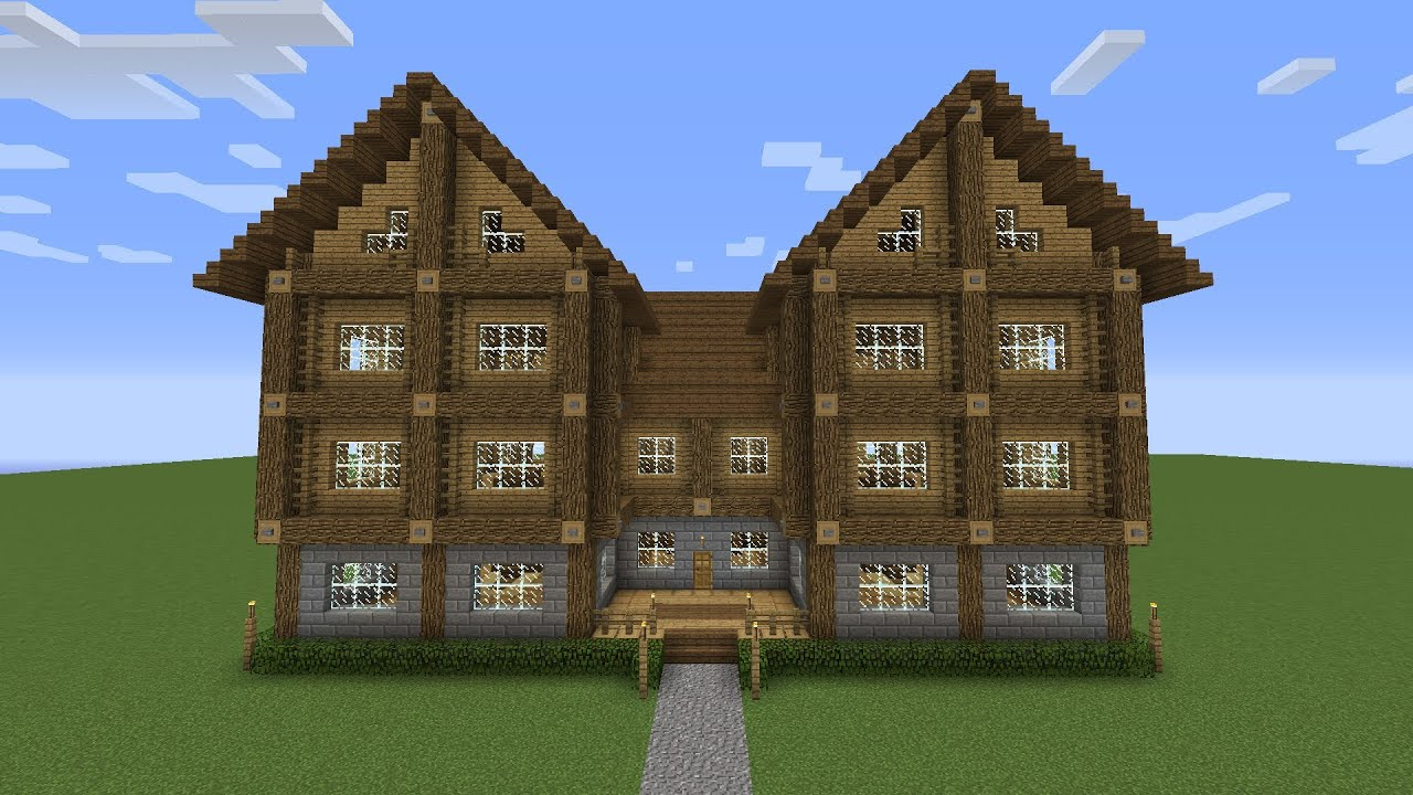 large 3 story mansion showcase minecraft youtube