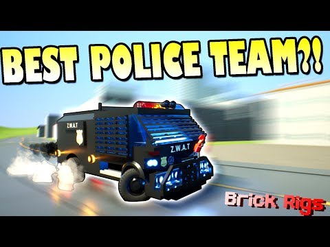 HILARIOUS POLICE MISSIONS with BOB and BOB! - Brick Rigs Multiplayer Gameplay Ep30