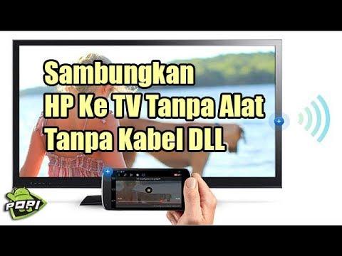 Cara Menyambungkan Hp Ke TV Tanpa Kabel #HPVIVO