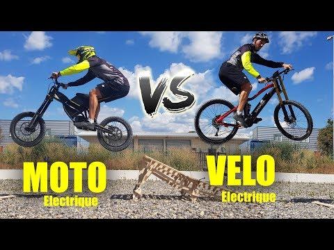MOTO Electrique Vs VÉLO Electrique !