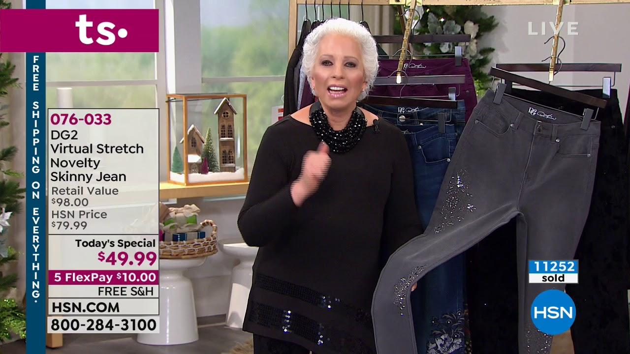 Hsn Diane Gilman Fashions 11 18 2018 12 Am Youtube