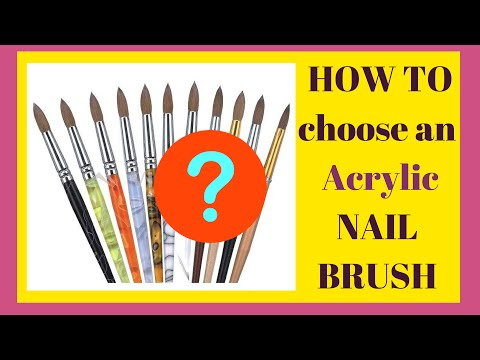 The Best Acrylic Nail Brush for Beginners (Tutorial) | I Review the Best and the Worse