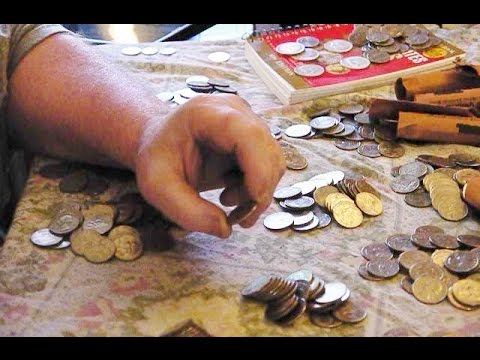 Coins for Dennis # 4, part 1 of 4, Coin rolling hunting for 1/2 Dollars & Quarters & password help.