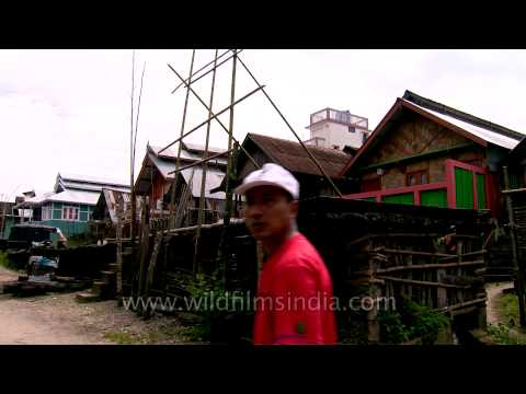 One of the more prosperous villages: Hari Village of Ziro Valley