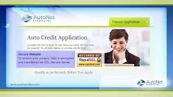 AutoNet Financial -- Get Approved for Auto Financing
