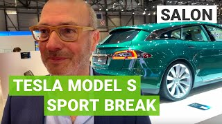 La Tesla Model S Sport Break expliquée par son concepteur