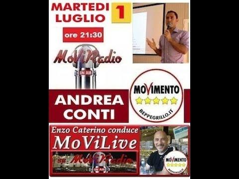 MoViRadio Intervista a Andrea Conti