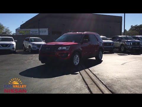 2016 Ford Explorer Phoenix, Mesa, AZ JN163040A